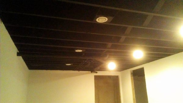 Black Ceilings Trendy Decorations Black And White High